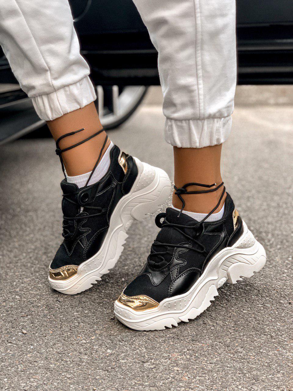 Жіночі кросівки AL 42-2 Black &Gold