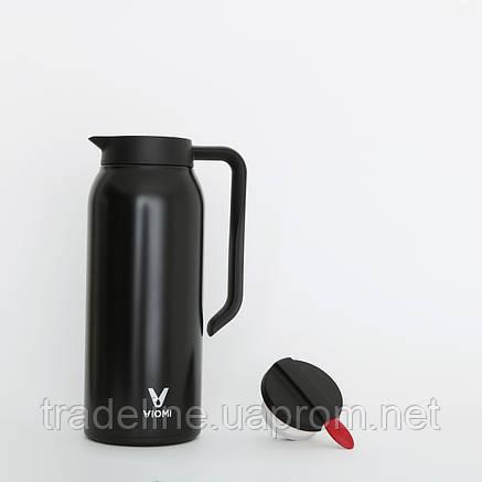 Термос Xiaomi Viomi Steel Vacuum Pot (1500ml) Black, фото 2