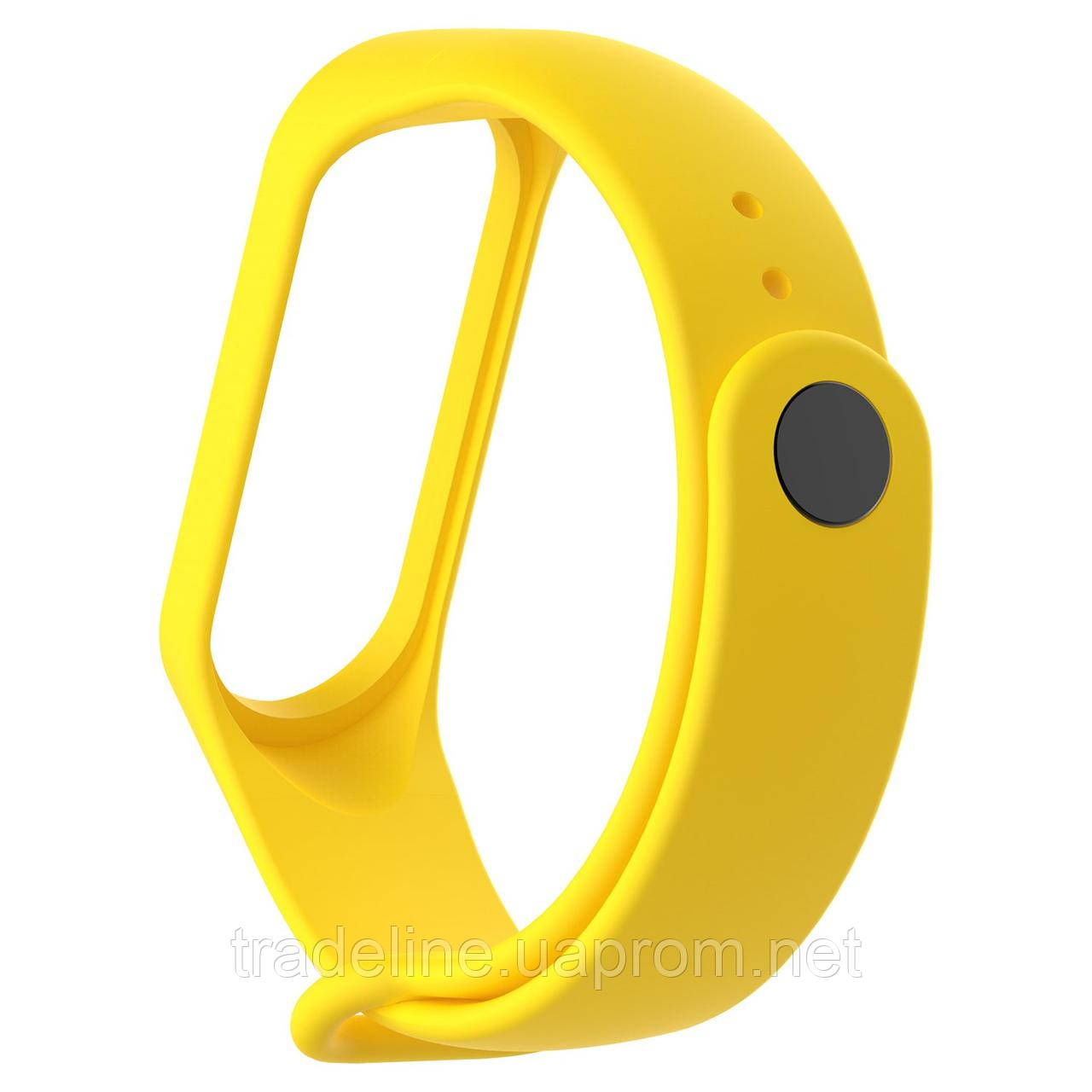 Ремешок Gasta for Xiaomi Mi Band 3 color Yellow