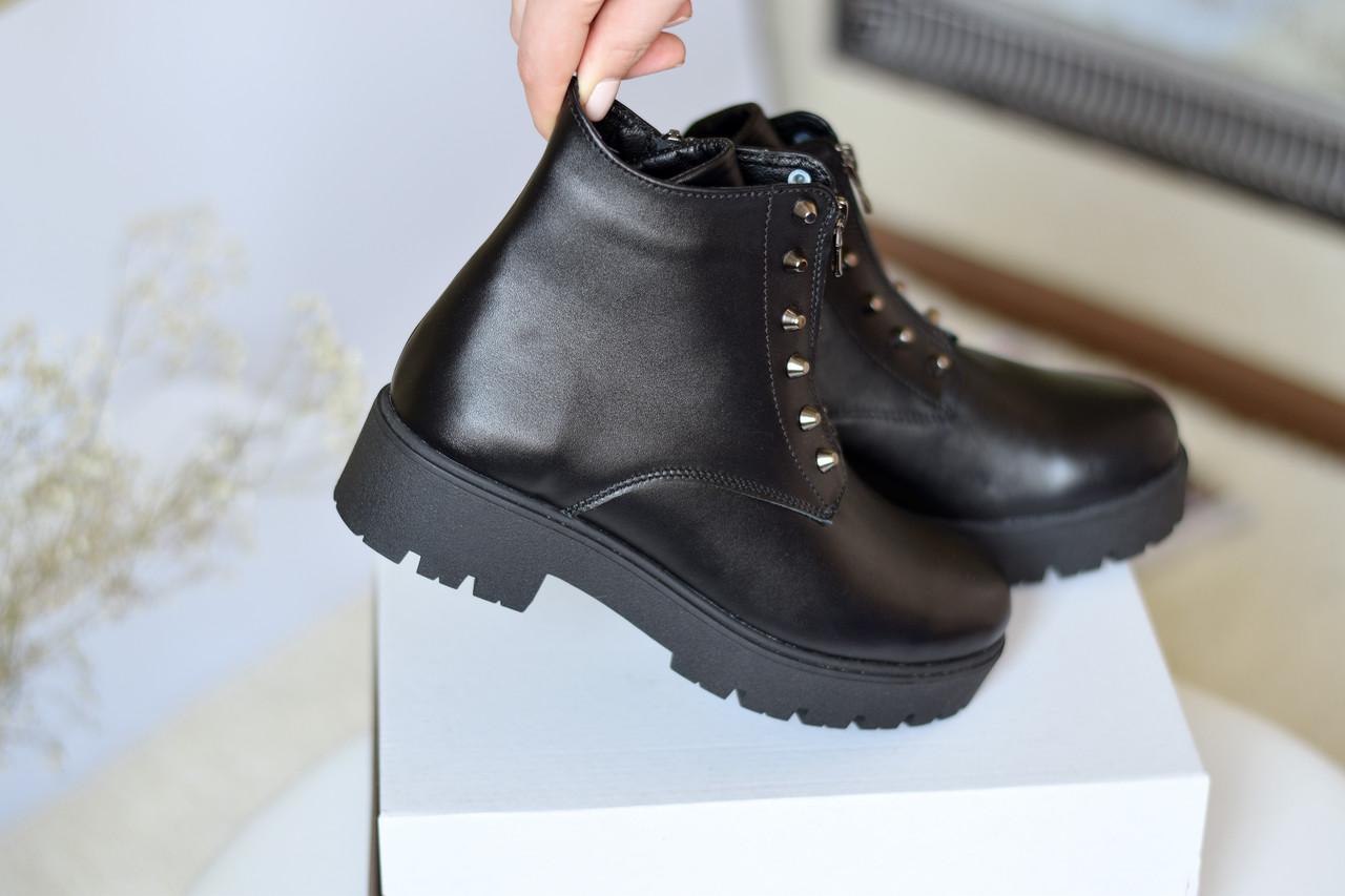Кожаные ботинки гранж Destra