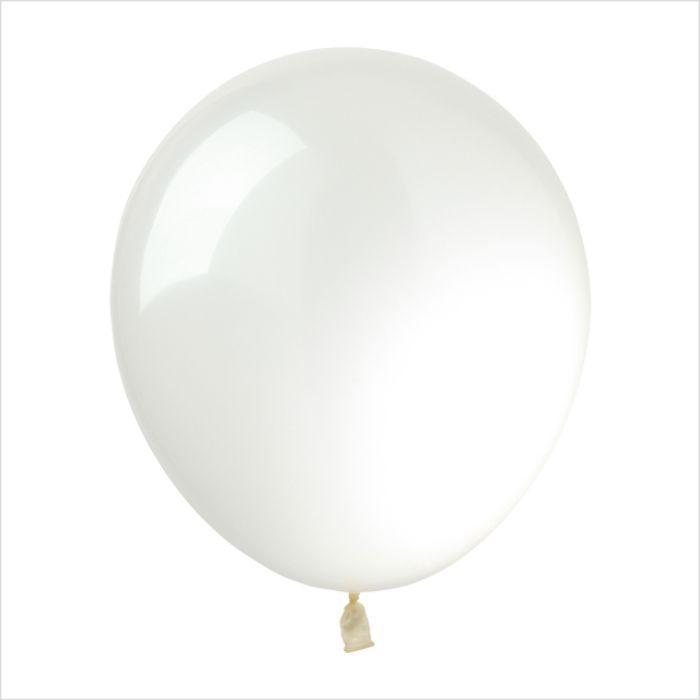 Латексные шары 12'' декоратор Kalisan Турция 27 прозрачный (30 см), 100 шт