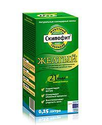 Скипофит Желтый скипидарный раствор для ванн с экстрактом трав 0,25л