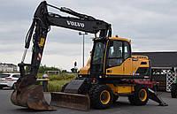 Колесный экскаватор VOLVO EW 160 D 2012 года
