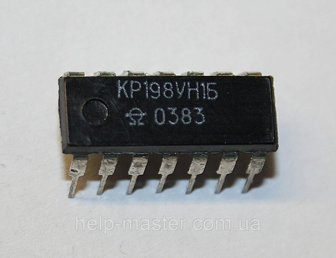 Микросхема КР198УН1Б (DIP-14)