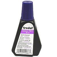 Краска штемпельная Trodat TR7011, 28мл, на водной основе, фиолетовая