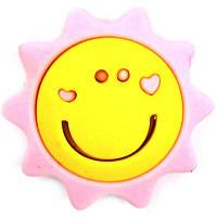 Ластик дет., фигурн., Cool for school Sun, 40х40мм, розовый с желтым, разборной
