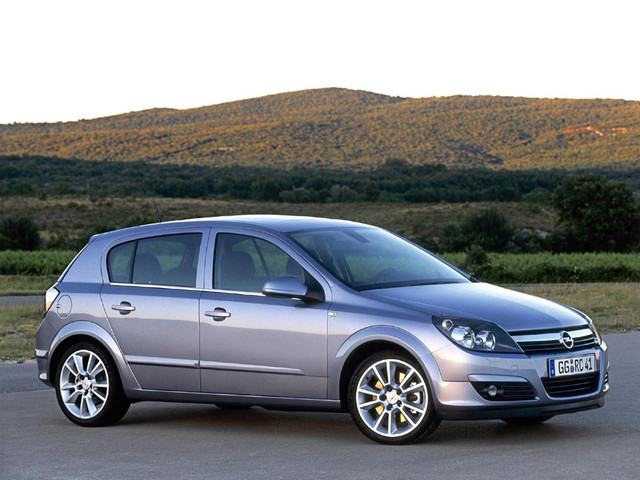 OPEL ASTRA H 2004-