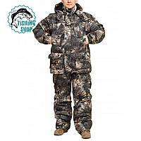 """Теплий зимовий костюм з водостійкої тканини Alova """"Яструб"""" до -30℃"""
