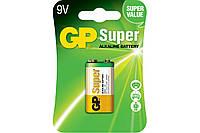 Батарейка GP Super Alkaline 1604A-U1, 6LF22, 9V крона