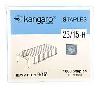 Скобы №23, 1000шт., Kangaro
