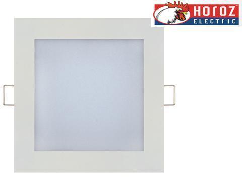 Светодиодный встраиваемый светильник квадрат 9W Slim/Sq-9 Horoz