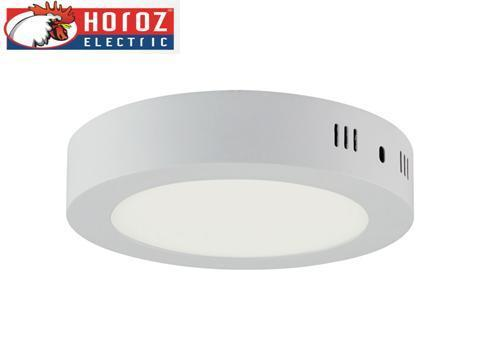 Светодиодная накладная панель круг 12W Caroline -12 Horoz Electric HL 640L