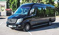 Mercedes Sprinter черный vip 12 мест
