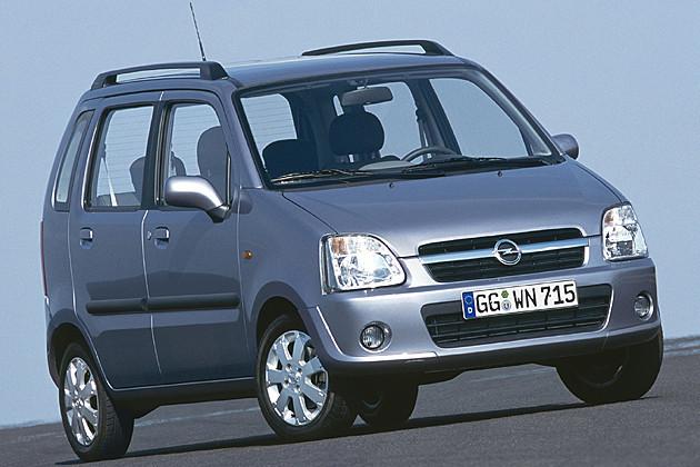 Opel agila 2000-2007