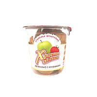"""Яблочное безе Spektrumix """"Хрустомания, сухарики фруктовые яблочные с клубникой"""", 50 г (стакан)"""