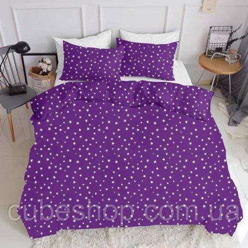 Комплект полуторного постельного белья STARSFALL VIOLET (хлопок, ранфорс)