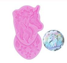 "Кондитерский молд ""Лошадь"" - размер молда 6*11см, силикон"