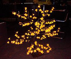 "Светодиодное дерево ""Сакура"" желтая, 80 см"