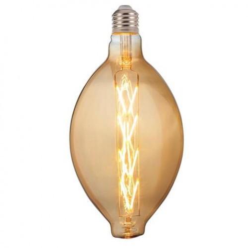 Светодиодная лампа Filament led Enigma 8W E27 2200К Янтар Horoz Electric