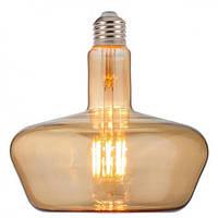 Светодиодная лампа Filament led Ginza 8W E27 2200К Янтар Horoz Electric, фото 1