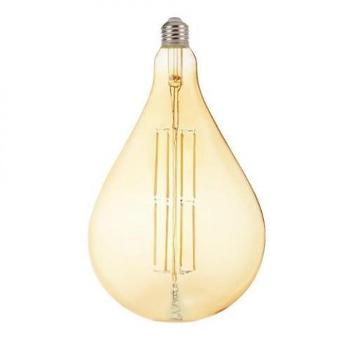 Лампа Filament led TOLEDO 8W 2200K Янтар Horoz Electric