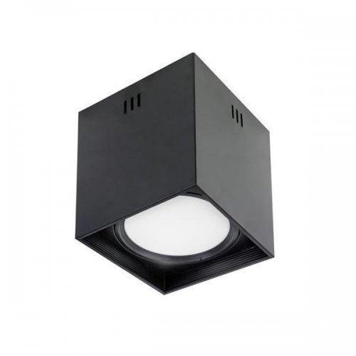 """Светильник квадрат накладной  """"SANDRA SQ10 XL"""" 10W 4200K черный/белый"""