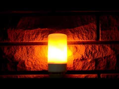 Лампа с эффектом пламени 5W FIREFLUX