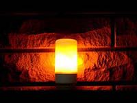 Лампа с эффектом пламени 5W FIREFLUX, фото 1