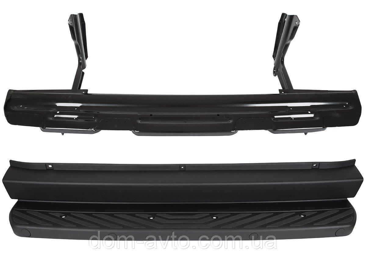 Задній бампер середня частина підніжка сходинка 9068800571 9065200331 Mercedes Sprinter 906 Crafter