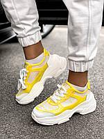 Женские кроссовки MJ-6532 Yellow, фото 1