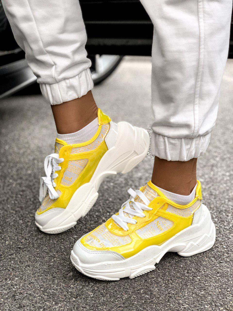 Жіночі кросівки MJ-6532 Yellow