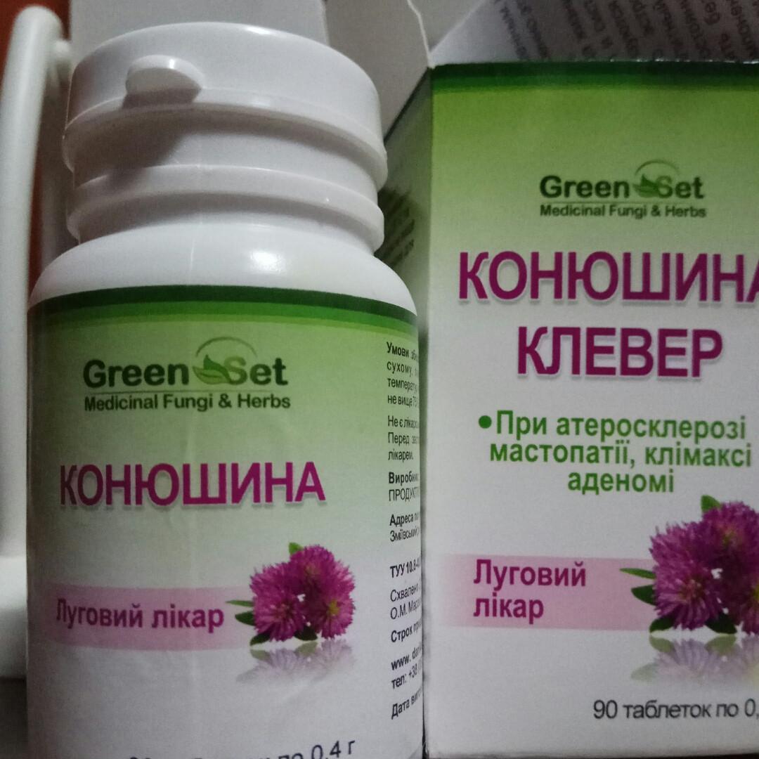 Клевер — луговой доктор  для профилактики и лечения климактерических симптомов (Danikafarm) 90таб.