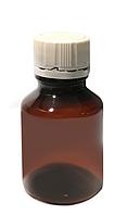 Тара бутылка с фиксирующейся крышкой, 60 мл