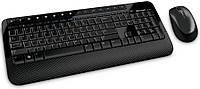 Комплект клавіатура + мишка Microsoft Wireless Desktop 2000 Black Ru