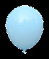 Латексные шары 12'' пастель Kalisan Турция 15 голубой (30 см), 100 шт