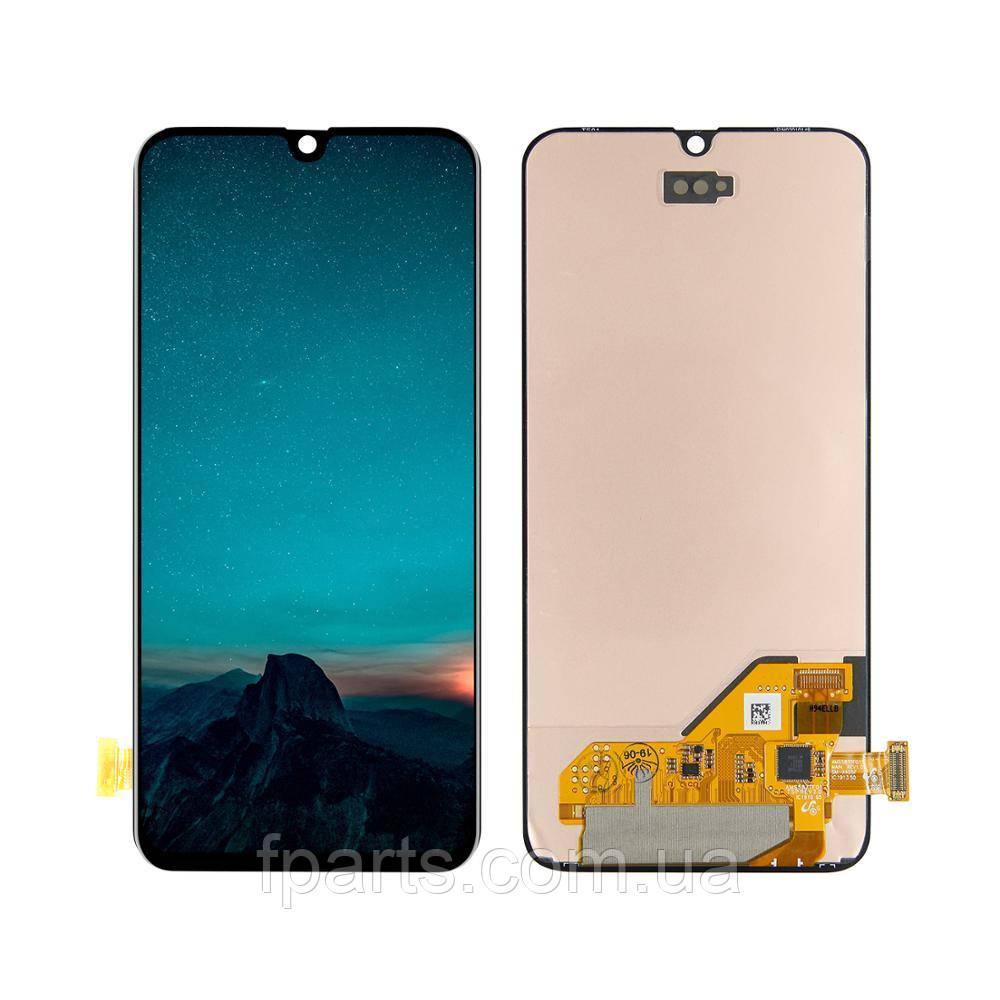 Дисплей для Samsung A405 Galaxy A40 с тачскрином, Black (Original PRC)