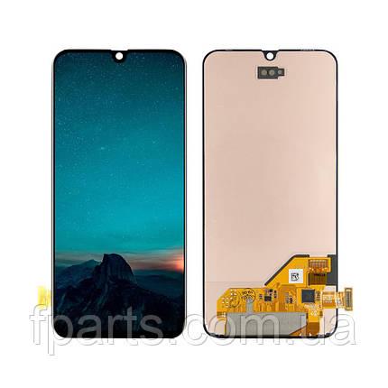 Дисплей для Samsung A405 Galaxy A40 с тачскрином, Black (Original PRC), фото 2