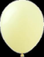 Латексные шары 12'' пастель Kalisan Турция 53 macaron желтый (30 см), 100 шт