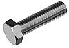 Болт М8х16 с уменьшенной шестигранной головкой, сталь кл. пр. 8.8 ЦБ, полная резьба ГОСТ 7796-70