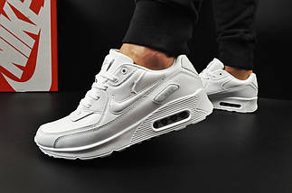 Мужские Кроссовки Nike Air Max 90 арт 20604 (мужские, белые), фото 2