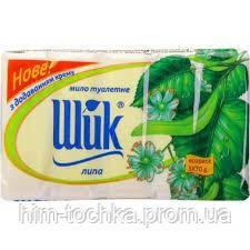 Мыло туалетное Шик 70 гр Липа, 6шт/уп