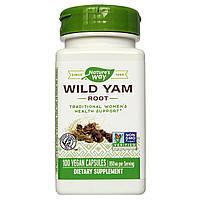 Дикий Ямс, Wild Yam, Nature's Way, 425 мг, 100 капсул