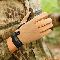Тактические стрелковые перчатки 5.11 Песок, Койот