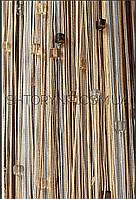 Шторы нити Радуга со стеклярусом