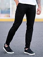 Мужские классические Брюки BEZET Chinos black '19, мужские весенние брюки, черные мужские классические брюки, фото 1