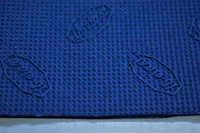 """Резина подметочная """"LB-ELAST"""" 560*440 т.2,0мм. цвет синяя, фото 2"""