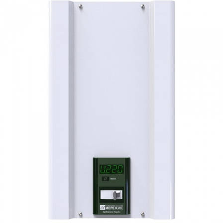 Мережик 9 - на 7000 Вт - симисторный стабилизатор для квартиры, офиса, дачи или дома., фото 2