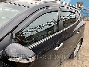 Ветровики,дефлектор окон Hyundai IX-35 (Hic)