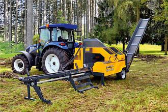 Процессор для производства дров UNIFOREST TITAN 40/20 PREMIUM  с циркулярной пилой (Словения)