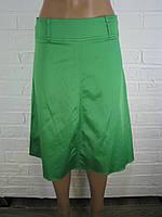 Спідниця жіноча атлас зелена 42,44,46,48